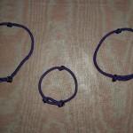 Purple Slider Cord Brcelets